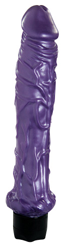 "Pearl Shine Veined Vibe – 10"" Pearlescent Purple"
