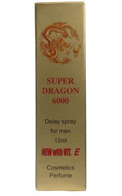 Super Dragon 6000 Delay Spray with Vitamin E